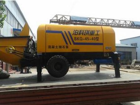 細石砂漿輸送泵簡介