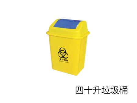 漳州厂家直销120四色分类带垃圾桶