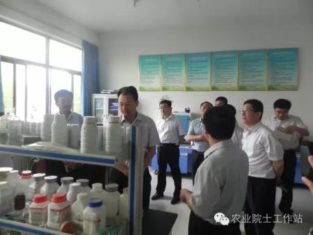 青州市委组织部部长宋正树到山东丰本生物科技股份有限公司调研