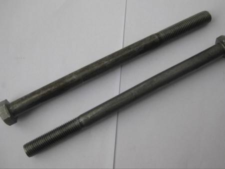 4.8级外六角螺栓 缩梗 GB30 规格16*240 本色 厂家直销 价格便宜