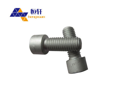 4.8级内六角螺栓本色镀锌螺栓热镀锌 螺栓螺杆 螺栓现货厂家直销