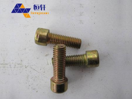 8.8级内六角螺栓 规格10X30 黄 全扣 GB70 厂家直销 价格便宜