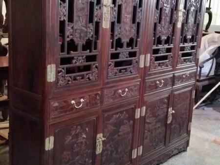 小叶紫檀书柜 小叶紫檀家具 厂家直销 材质保证 红木家具 印度