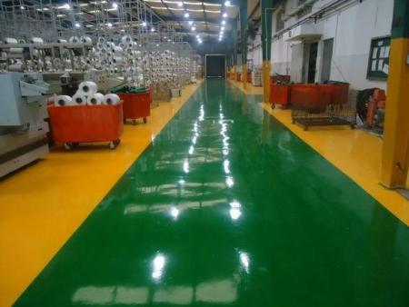 适合大型机械厂选用的地坪漆涂装方法