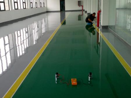 防静电环氧地坪漆的水性化设计与涂装