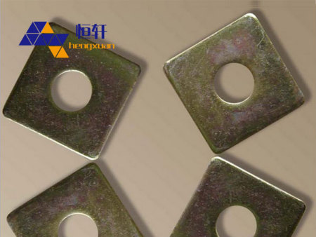 方垫方形垫圈50X50X20 镀锌方垫 本色 工厂直销