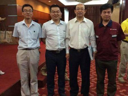 中国职业教育学会常务副会长兼秘书长刘占山指导工作