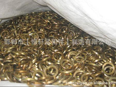 【镀彩锌螺栓】GB97弹垫|镀彩锌弹垫|M16的弹垫|永年厂家低价销售