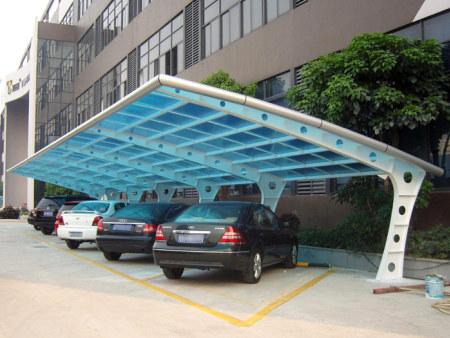 膜結構停車棚需要的膜結構材料