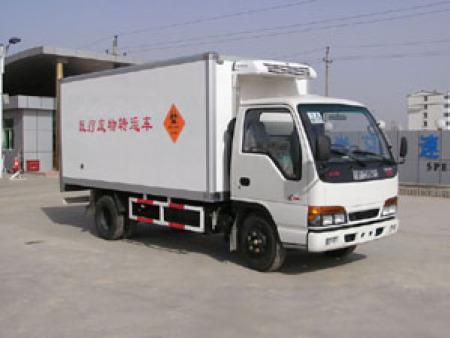 庆铃医疗废物运输车4x2