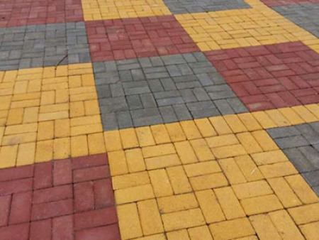 渗水路面砖