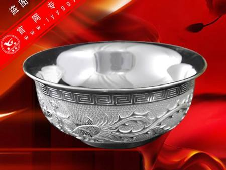 精品純銀碗(J款)—鳳舞