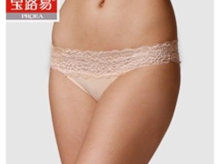 【舒适莫代尔】女士三角内裤【宝路易】时尚性感/蕾丝0701