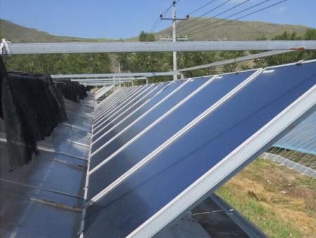 高寒地域温棚太阳能热抵偿系统工程