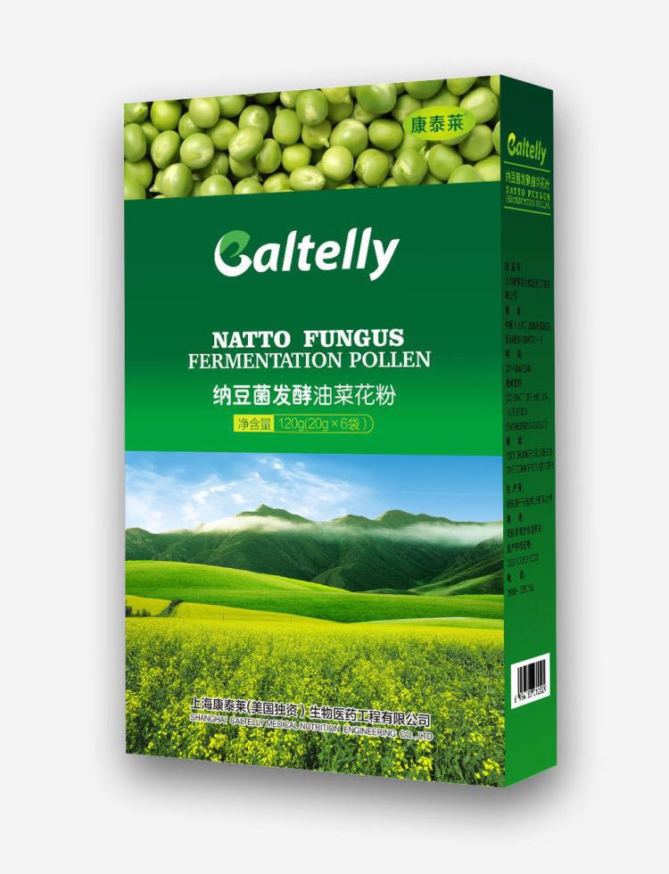 康泰莱·纳豆菌发酵油菜花粉