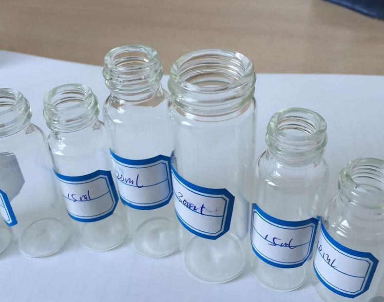 西林瓶采用进口低硼硅***玻璃瓶