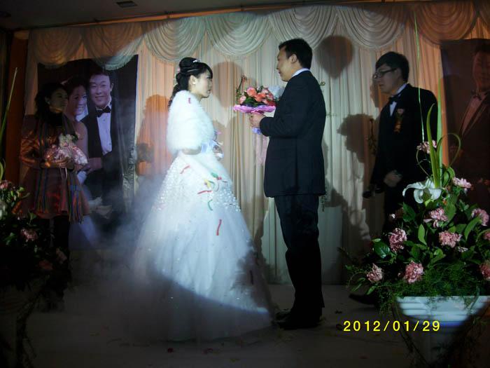 罗马欧式鲜花婚礼