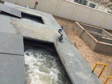 MBR中水回用工藝流程圖