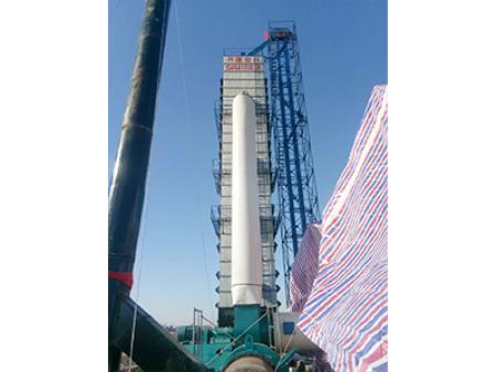 吉林省长岭150吨亚虎个人娱乐中心塔设备玉米亚虎个人娱乐中心塔