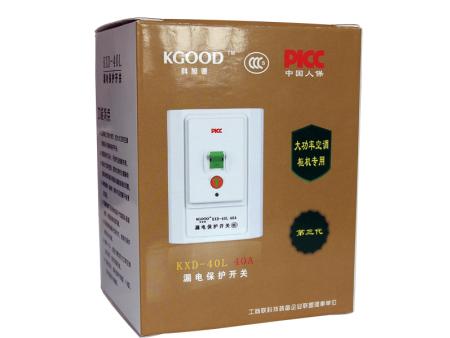 KXD-40L 40A(金)漏电保护开关系列