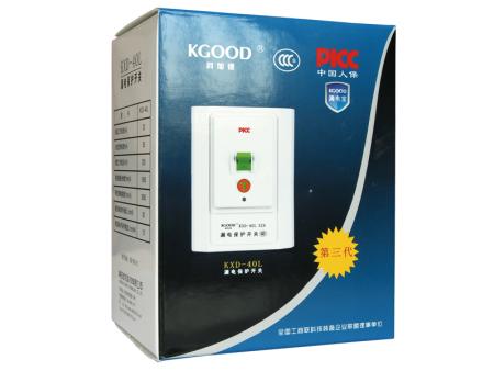 KXD-40L 32A漏电保护开关系列