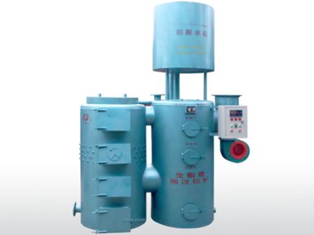 懒汉生物质双体锅炉A型