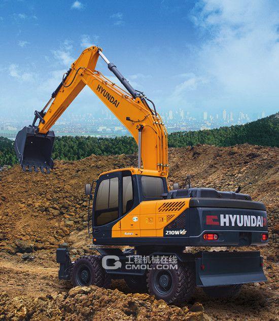 价值和卓越的体现 现代R210WVS挖掘机