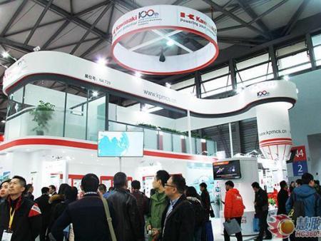 2016上海宝马展 川崎重工可靠高效精品夺人眼球