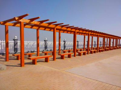 蘭州護欄|仿木護欄|河堤護欄|仿木柵欄|藝術圍欄|仿木廊架|花架-甘肅絲路環保園林景觀制品有限公司