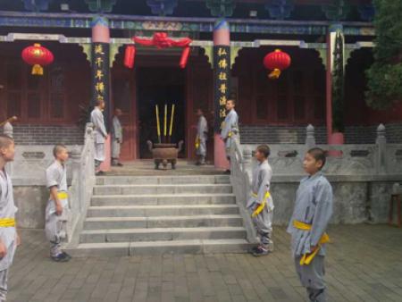 少林寺武术学校教育对我孩子的影响