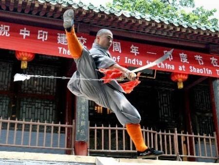 河南少林寺武术学校圆了少年梦
