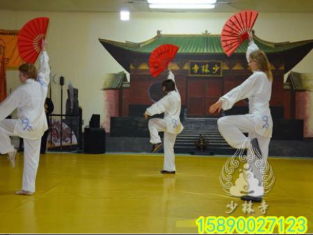 俄罗斯少林达摩文化中心举行中国农历新年庆祝