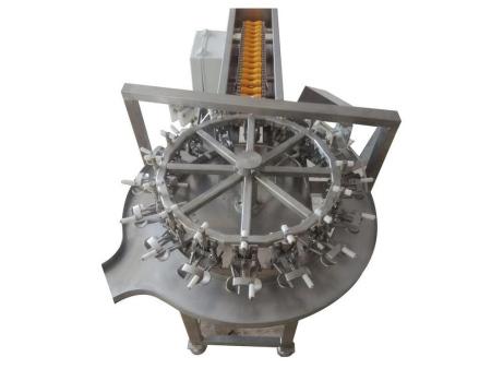 立式轉盤型洗蛋磕蛋機