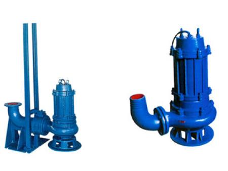 QW/WQ型无阻塞潜水排污泵