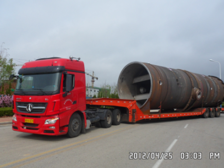 化工机械设备大件运输
