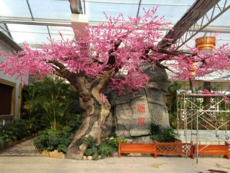 生态园仿真樱花树