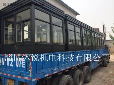 氟碳漆岗亭装车发货