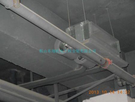空调工程现场