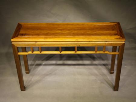 内马蹄束腰条桌