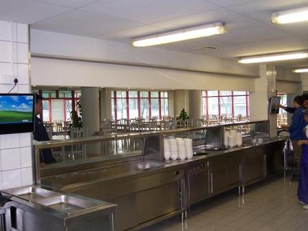 企业食堂用触摸平博体育自助终端-无纸化工位触摸终端的新领域