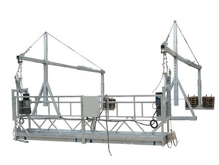 聚耀机械高空作业电动吊篮安全常识