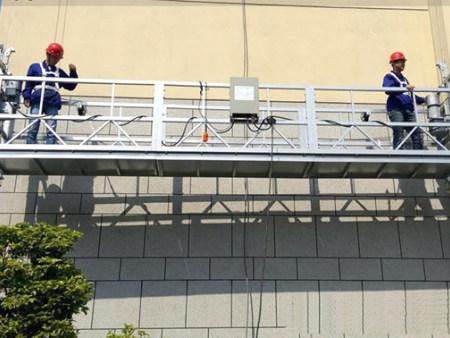 电动吊篮工程案例