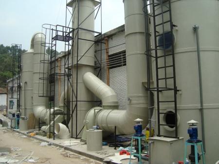 廢氣處理設備噴淋塔