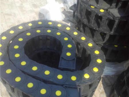 天津定做数控机床耐酸碱工程塑料拖链/尼龙桥式拖链热销