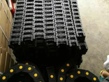 天津供应隧道专用承重型尼龙塑料拖链/耐酸碱工程塑料拖链