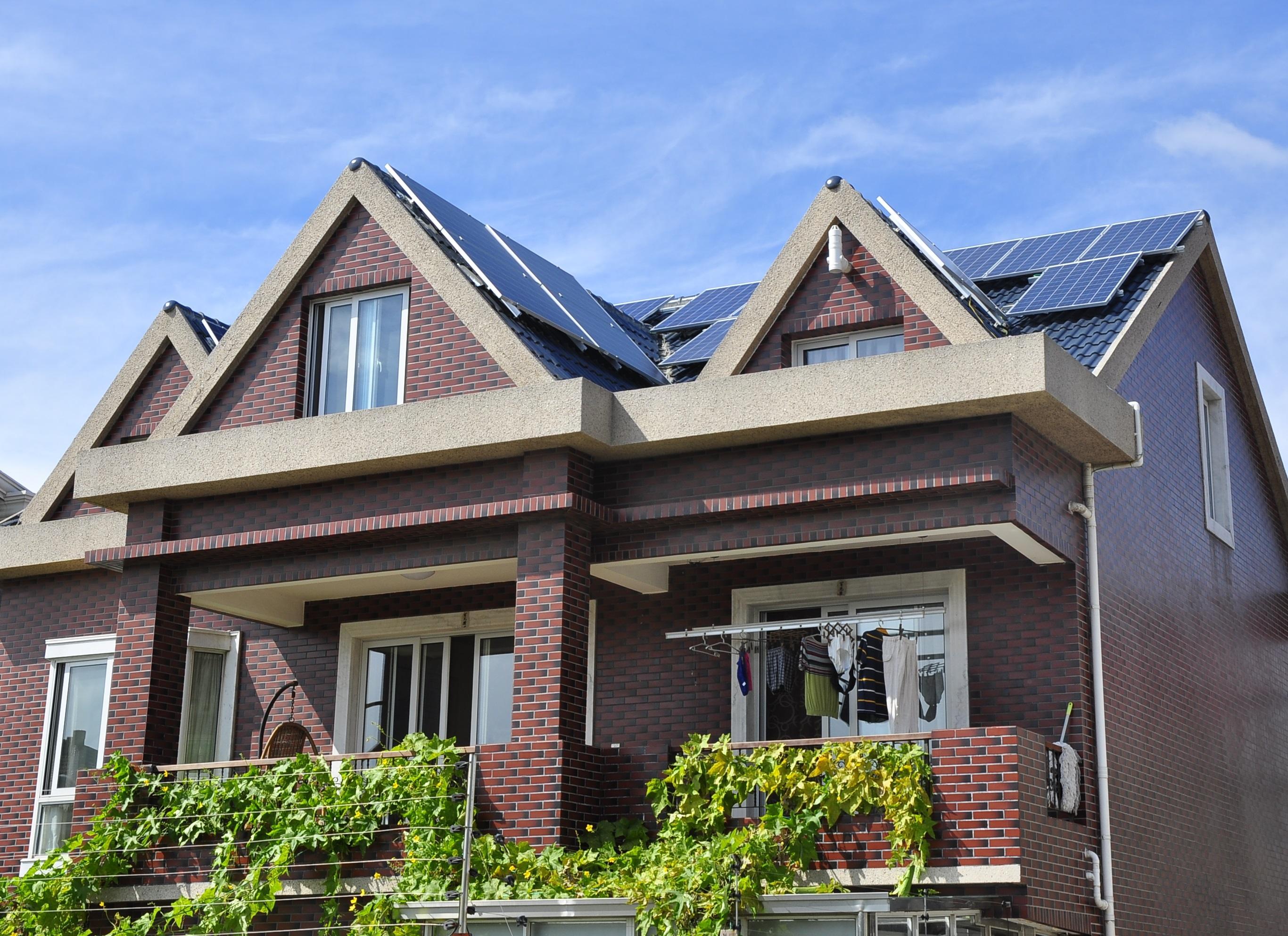 别墅屋顶光伏项目
