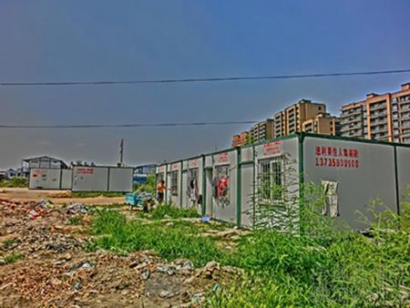 中铁一局杭州铁路东站枢纽东西广场区块配套项目工地实景