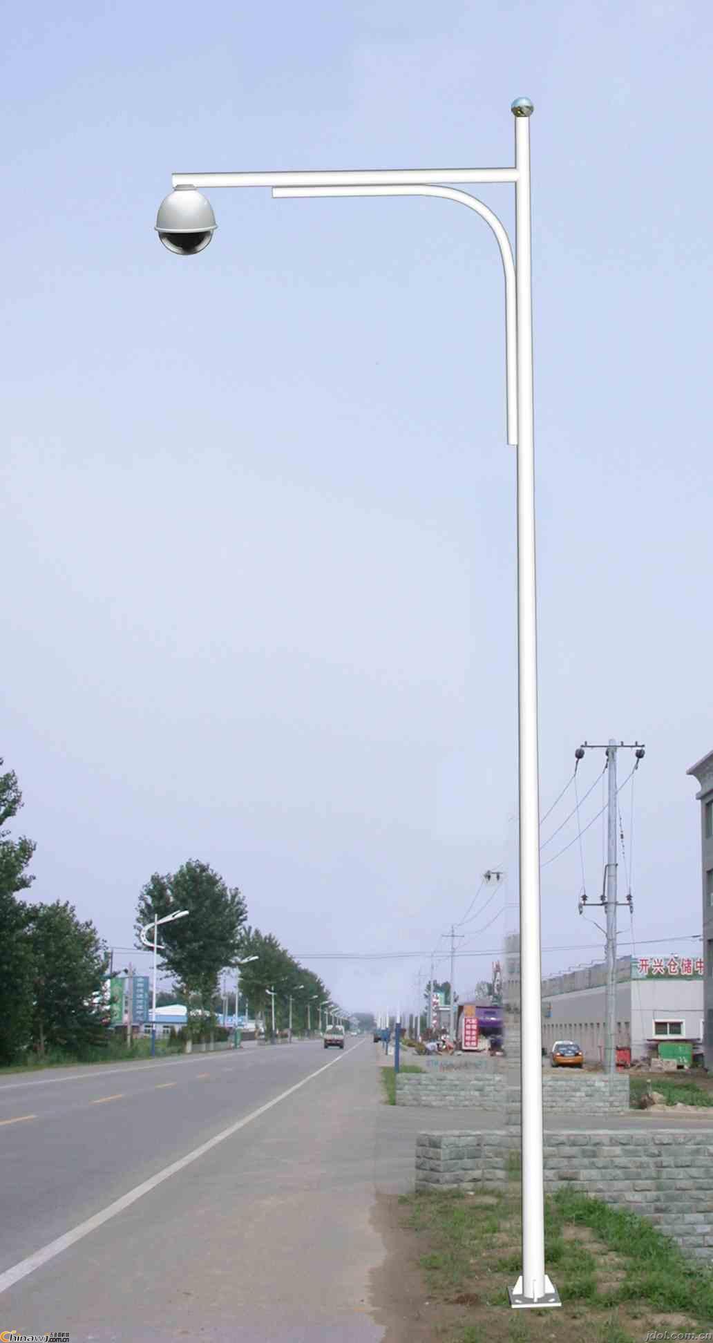 沈阳监控杆在安装时要注意什么呢?