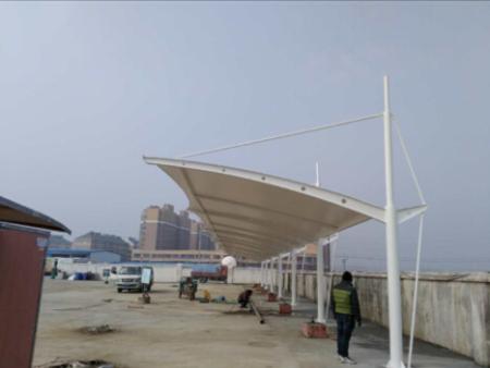 祝贺五河县充电桩雨棚竣工