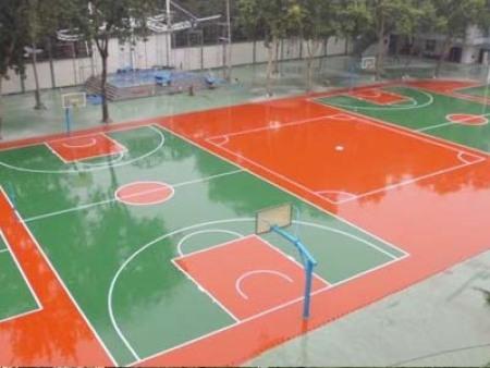 硅Pu塑胶球场3